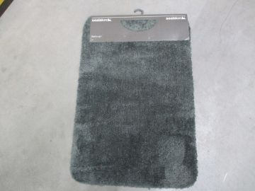 ACC674 Sealskin Angora Toiletmat Grey 293993614