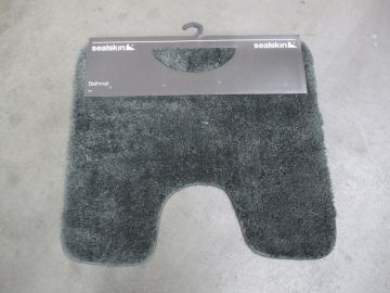 ACC675 Sealskin Angora Toiletmat Grey 293997014